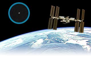 Station spatiale internationale observation