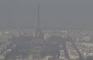 Pollution de l'air à Paris